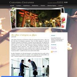 La culture japonaise - Cassandra Chatainier