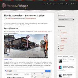 Ruelle Japonaise - Illustration avec Blender et Cycles