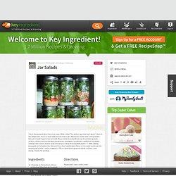 Jar Salads Recipe