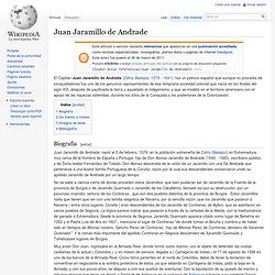 Juan Jaramillo de Andrade