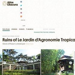 Ruins of Le Jardin d'Agronomie Tropicale – Nogent-sur-Marne