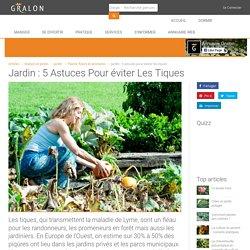 Jardin : 5 astuces pour éviter les tiques