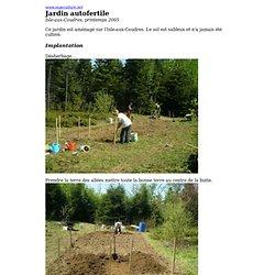 Jardin autofertile - Isle-aux-Coudres