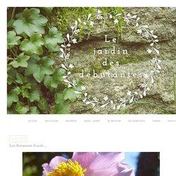 Les floraisons d'août...