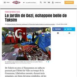 Le jardin de Gezi, échappée belle de Taksim