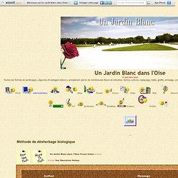 Un Jardin Blanc - herbicides
