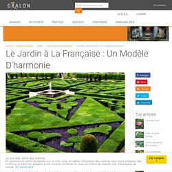 Le jardin à la française : un modèle d'harmonie