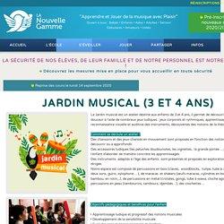 Jardin Musical (3 et 4 ans)