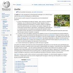 Jardin Wikipédia