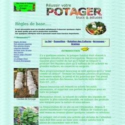 Jardinage légumes Potager culture biologique regles de base
