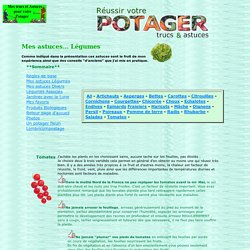 astuces Légumes