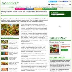 Jardinage bio : Que planter pour avoir un verger bio d'excellence
