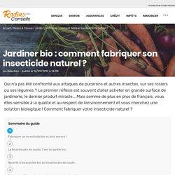 Jardiner bio : comment fabriquer son insecticide naturel ?