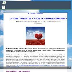 LA SAINT VALENTIN - 3 FOIS LE CHIFFRE D'AFFAIRES ! - www.Jardinerie-Animalerie-Fleuriste.fr