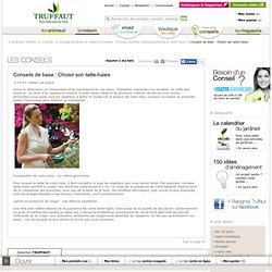 Conseils pour choisir son taille-haies: jardinerie Truffaut conseils Coupes bordures, débroussailleuses et tailles haie Truffaut
