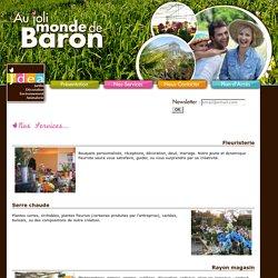 Jardinerie Joigny - Joli Monde De Baron, plantation, poterie, cadeaux, engrais, plantes vertes, yonne, 89
