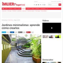 Jardines minimalistas: aprende cómo crearlos