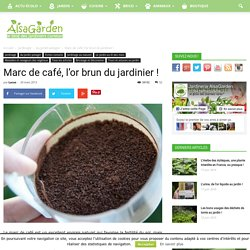 Compostage pearltrees - Marc de cafe et plantes ...