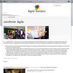 Jardinier Agile