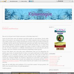 Jardinière multifonctions - Kalawangue