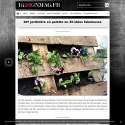 DIY jardinière en palette en 30 idées fabuleuses -