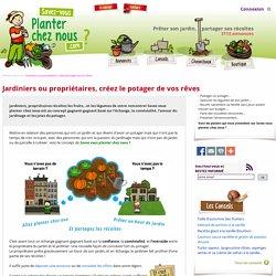 Rencontrez vous pour créer le potager de vos rêves - Savez-vous planter chez nous.com echange jardin-potager-legumes