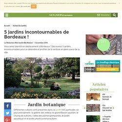 jardins Bordeaux - visites