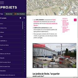 NANTERRE (92) : Construction des Jardins de l'Arche