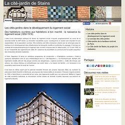 Les cités-jardins dans le développement du logement social