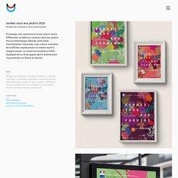 rendez-vous aux jardins 2016 – duofluo, design graphique