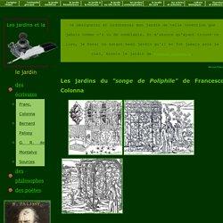 Jardins des écrivains de la Renaissance
