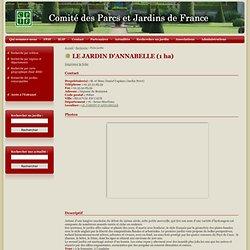 LE JARDIN D'ANNABELLE