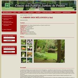 Jardin des Mélanges