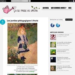 Les jardins pédagogiques à Paris