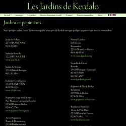 Jardins et pépinières - Les jardins de Kerdalo