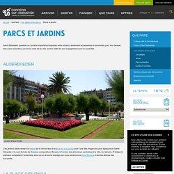 Parcs et jardins - Saint-Sébastien Tourisme
