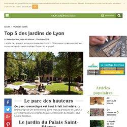 beaux jardins Lyon - visite