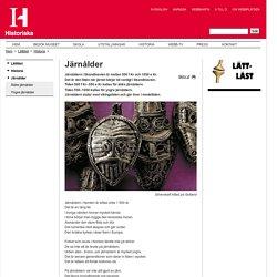 Järnålder - Historiska