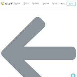 Download profile, hashtag data (jaroslavhejlek/instagram-scraper) · Apify