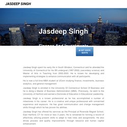 Jasdeep Singh - West Hartford, CT 06107
