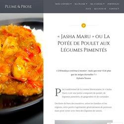 «Jasha Maru» ou La Potée de Poulet aux Légumes Pimentés
