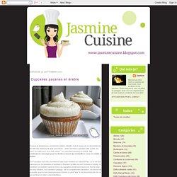Jasmine Cuisine: Cupcakes pacanes et érable