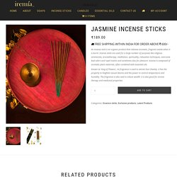 Jasmine Incense Sticks – Buy Jasmine Agarbatti Sticks Online at Sale Price
