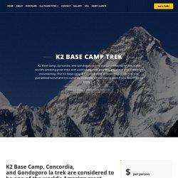K2 Base Camp Trek-Jasmine Tours Trekking and Expeditions