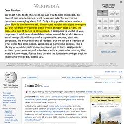 Jasna Góra - Wikipedia
