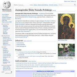 Jasnogórskie Śluby Narodu Polskiego
