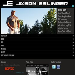 Jason Eslinger - Long Drive Champion