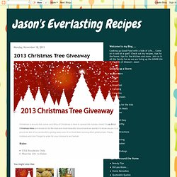 Jason's Everlasting Recipes