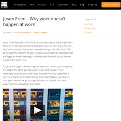 Jason Fried - Why work doesn't happen at work - Cloud Coach