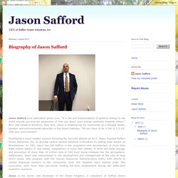 Jason Safford: Biography of Jason Safford